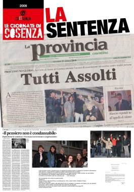 novembre 2002: LE GIORNATE DI COSENZA